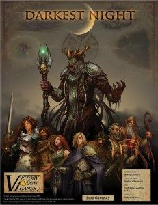Maurice Fitzgerlad reviews Darkest Night by Victory Point Games for Club Fantasci. #boardgames