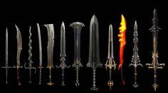 diablo 3 sword   Diablo 3 3D Weapon Design 1 /10