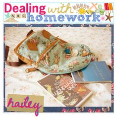"""""""dealing with HOMEWORK . ♥"""" by thepolyvoretipgirls on Polyvore"""