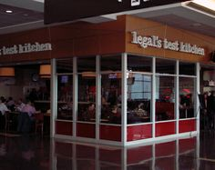 Legal's Test Kitchen at Boston Logan Intl Airport #BOS Terminal A [via: www.legalseafoods.com ]