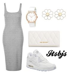 """""""Grey/white/Nike/max90"""" by itsbjs on Polyvore"""