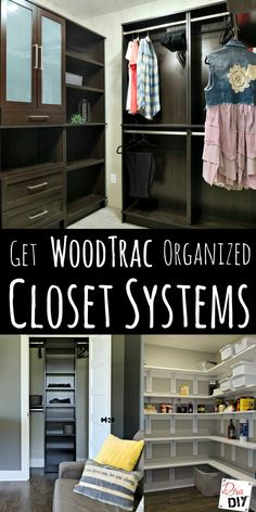 1000 images about diy ideas on pinterest the cottage for Woodtrac closets