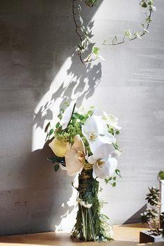 단아함을 살린 호접란 꽃다발