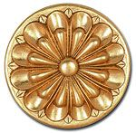 Decorative Gold Foil Pieces for Interior Design