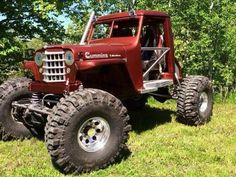 Willys pickup with Cummins