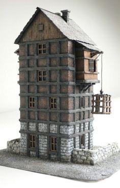 Terrain - house to Warhammer