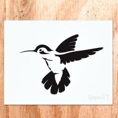 Standard sized stencils measure x with a single image. Make t-shirts using our stencils and fabric paint! Bird Stencil, Stencil Art, Stencil Patterns, Stencil Designs, Stencils, Color Me Mine, Inspiration Design, Bird Silhouette, Scroll Saw Patterns