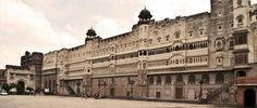 Junagarh fort is an ancient fort in Bikaner city of Rajasthan. It was built under the sixth ruler of Bikaner, Raja Rai Singh.