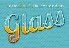 Create a Transparent Text in Photoshop - Photoshop tutorial | PSDDude