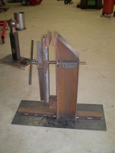 Show me your vise Forging Tools, Blacksmith Tools, Welding Tools, Metal Working Tools, Metal Tools, Metal Projects, Welding Projects, Cool Tools, Diy Tools