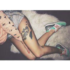 nove lasky  #newbalance & #tattoo