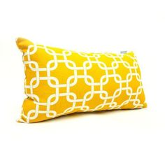 Majestic Home Goods Yellow Links Pillow, Small by Majestic Home Goods, http://www.amazon.com/dp/B00A8XTF7I/ref=cm_sw_r_pi_dp_1xTdsb1Y73GT2