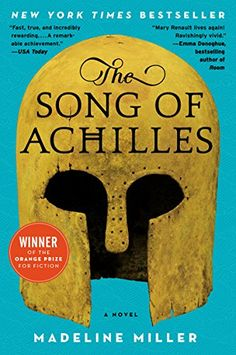The Song of Achilles by Madeline Miller. Built on the groundwork of the Iliad , Madeline Miller's page-turning, profoundly moving, and blisteringly paced retelling of the epic Trojan War marks the launch of a dazzling career. Emma Donoghue, Will Turner, The Song Of Achilles, Good Books, Books To Read, Big Books, Amazing Books, Cr7 Messi, Achilles And Patroclus