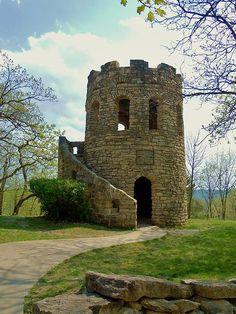 Clark Stone Tower Print by Brynn Kelley