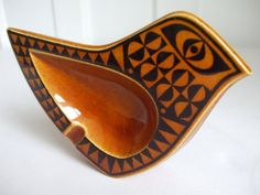 Hornsea spoon rest / tobacco dish by FishboneVintage on Etsy, £26.00
