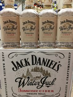 Winter Jack Is Here! Distillery, Vodka Bottle, Tennessee, Liquor, Winter, Winter Time, Alcohol, Liqueurs
