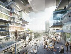 BIG, OMA, Büro-OS To Compete for New Media Campus in Berlin   ArchDaily