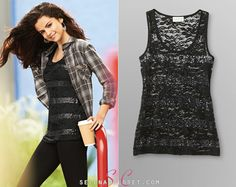 Here you'll find information on the latest outfits that Selena has worn and where to get them....