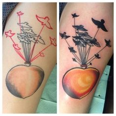 James and the Giant Peach | 50 Incredible Tattoos Inspired By Books From Childhood
