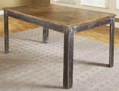 Amazon.com - Modus Furniture International Farmhouse Dining Table - Tables
