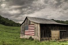 I like the rustic look of this barn. It is old wood which has warmth and character to it. It took a long time to get like that and no one is messing it up