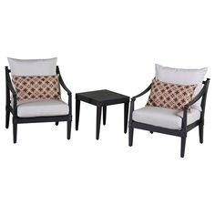 Astoria Club Chair and Side Table in Moroccan Cream $1,399.99