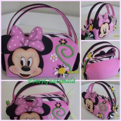 Pursse Minnie mouse (foami)