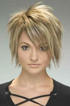choppy cute love this one day i will be brave enough to cut my hair this short! #momdo