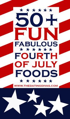 50 Fun Fourth of July Foods 4th Of July Desserts, Fourth Of July Food, 4th Of July Celebration, 4th Of July Party, July 4th, Wedding Fireworks, Personalized Greeting Cards, Patriotic Party, Patriotic Crafts