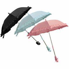 Vaunujen tai rattaiden varjoa voi hyödyntää aurinkovarjona myös kantaessa.