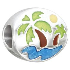 Chamilia Oasis Bead in Sterling Silver