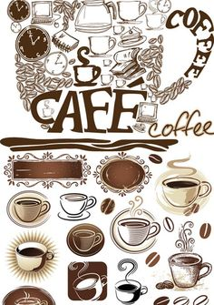 coffee | satisfied probably with these wonderful coffee cups vectors and coffee ...