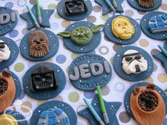 Star Wars Fondant Toppers
