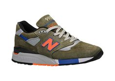 New Balance 998 Deep Olive Available Now