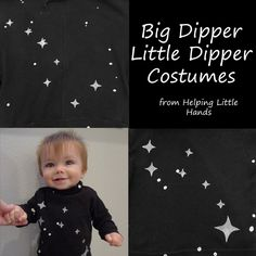 Helping Little Hands: Big Dipper/Little Dipper - Father/Son Constellation Costumes