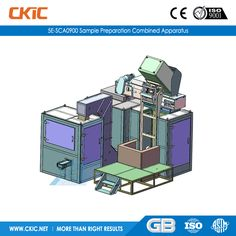 For details of 5E-SCA0900 Sample Preparation Combined Apparatus, please check: http://www.ckic.net/products/sample-preparation-equipment/5e-sca0900-sample-preparation-combined-apparatus.html