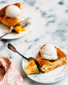Buttermilk Apricot Cake | www.foodess.com