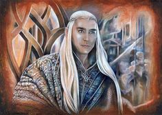 Thranduil, King of Wood and Stone.