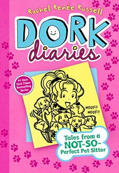 Dork Diaries 10: Tales from a Not-So-Perfect Pet Sitter by Rachel Renée Russell http://www.amazon.com/dp/1481457047/ref=cm_sw_r_pi_dp_TTXOvb0ZSXW6P