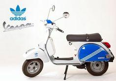 Vespa and Adidas