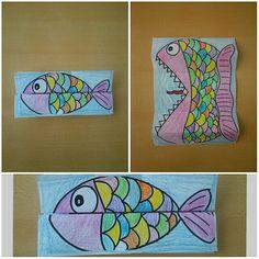 Çılgın balık / katlamaya dikkat