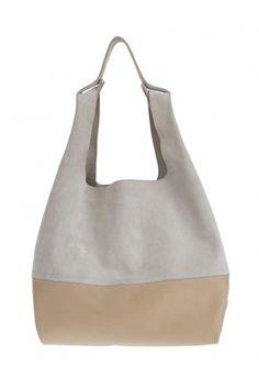 Snatch Bag - Grey & Beige