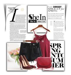 """Shein 10"" by amelaa-16 ❤ liked on Polyvore featuring Gianvito Rossi"