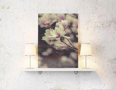 Nature print magnolia flower photography prints by BonVoyageStudio