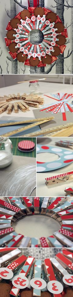 Pyykkipoikakalenteri. lasten | askartelu | joulu | käsityöt | koti | joulukalenteri | DIY ideas | kid crafts | christmas | home | calendar | Pikku Kakkonen