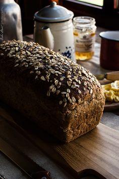 Pan de molde de semillas y tres maltas - Bake-Street.com