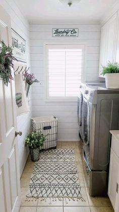 Laundry Room Organization, Laundry Room Design, Organized Laundry Rooms, Laundry Room Shelving, Laundry Room Small, Laundry Table, Mudroom Laundry Room, Laundry Decor, Bathroom Closet