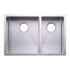 "BAI 1227 - 27"" Handmade Stainless Steel Kitchen Sink Doub...…"