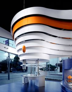 Project: Snaidero Showroom, Los Angeles, CA Design: Giorgio Borruso Photography: Benny Chan/Fotoworks Built by Eventscape, 2004