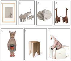 Baby room accessories / giraffes  source unknown